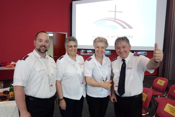 Tha Salvation Army took part in 2018 General Assembly of the Conference of European Churches