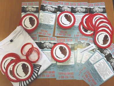 """News from SA Project in Russia """"Anti-Human Trafficking Awareness Raising"""""""