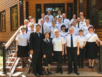 Officers, Corps Leaders and Cadets Fellowship in The Salvation Army in Russia