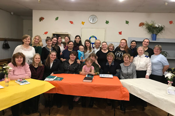 "Women Fellowship in St. Petersburg ""Mission to Serve"""