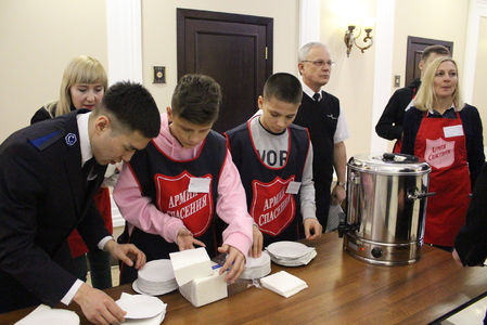 Christmas and New Year in the Salvation Army in Russia