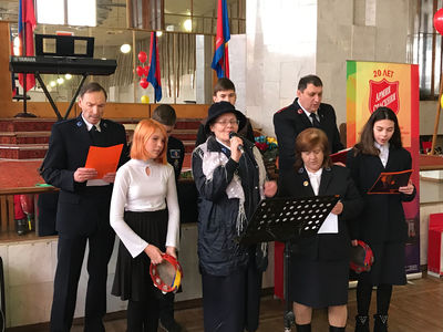 The Salvation Army in Simferopol celebrates 20 years of ministry